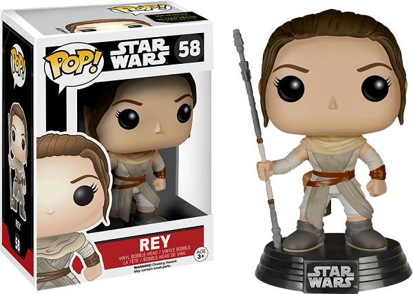 Star Wars Episode 7 Rey #58 - rey star wars pop vinyl figure - pop toys
