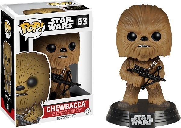 Star Wars Episode 7 Chewbacca #63 - chewbacca star wars pop vinyl figure - pop toys
