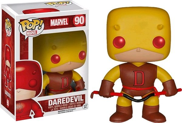 Daredevil (Yellow) #90 - darevil marvel pop vinyl figure - pop toys