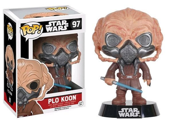 Star Wars Plo Koon #97 - plo koon star wars pop vinyl figure - pop toys