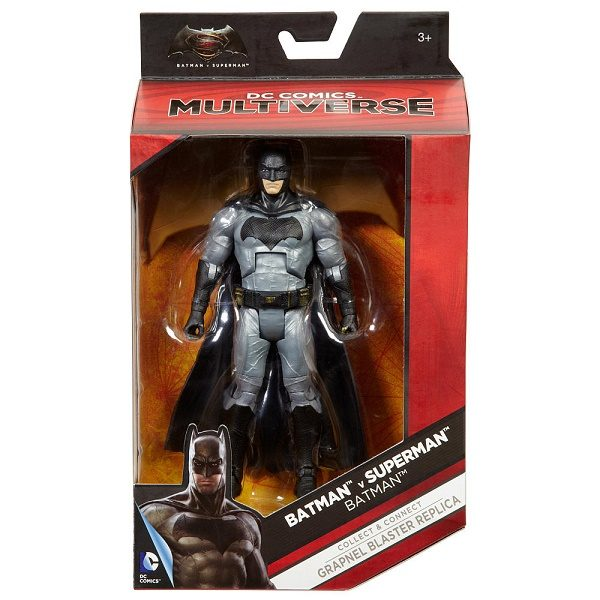 "DC Multiverse Batman v Superman Batman 6"" figure - dc heroes - pop toys"
