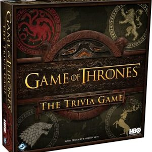 Game of Thrones: The Trivia Game - boardgame cover - pop toys