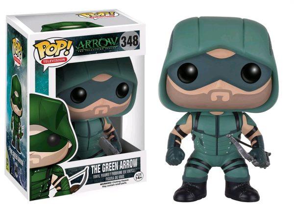 Arrow Pop Vinyl: The Green Arrow #348 - the green arrow arrow pop vinyl figure - pop toys