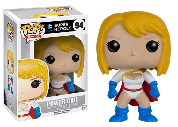 DC Comics Pop Vinyl: Power Girl - power girl dc super heroes pop vinyl figure - pop toys