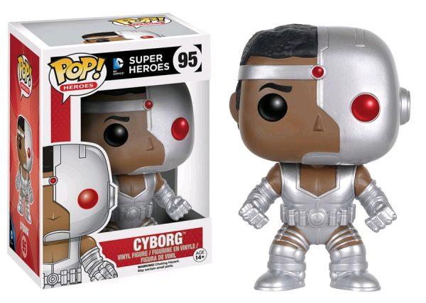 DC Comics Pop Vinyl: Cyborg - cyborg dc super heroes pop vinyl figure - pop toys