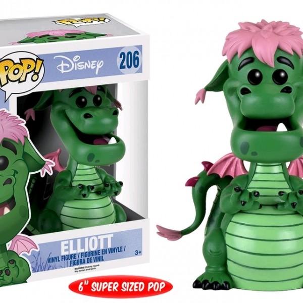 "Pete's Dragon Pop Vinyl: Elliot 6"""