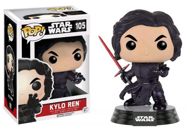 Star Wars Episode 7 Pop Vinyl: Kylo Ren (Final Battle) #105 - kylo ren star wars - pop toys