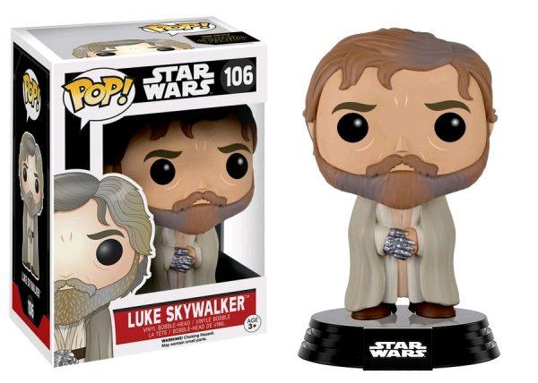 Star Wars Episode 7 Pop Vinyl: Luke Skywalker #106 - luke skywalker star wars - pop toys