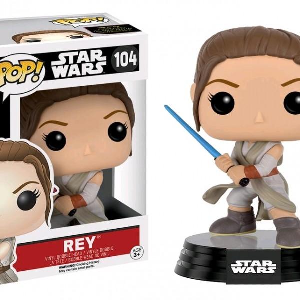 Star Wars Episode 7 Pop Vinyl: Rey (Final Battle) #104