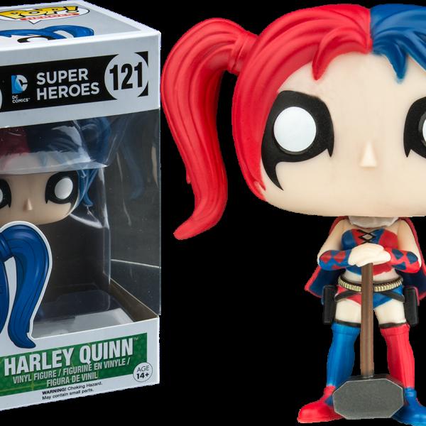 DC Comics Pop Vinyl: Harley Quinn New 52 with Mallet #121 - image DC_harley-quinn-new-52-mallet-pop-vinyl-figure121-600x600 on https://pop.toys