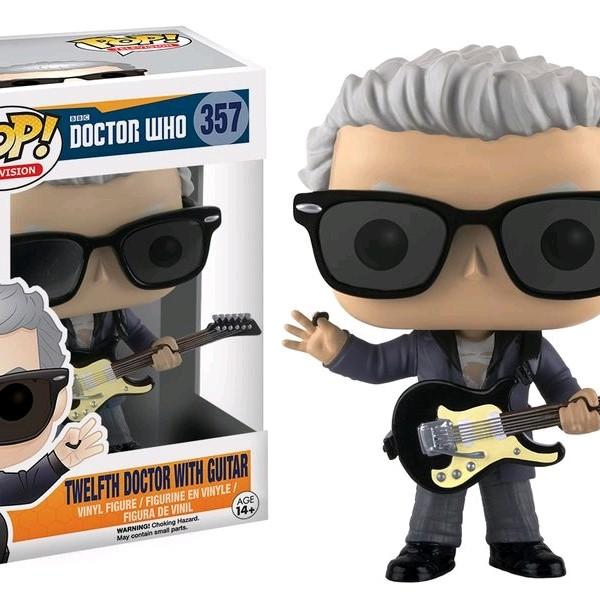 Doctor Who Pop Vinyl: Twelfth Dr with Guitar #357 - image DrWho-Twelfth-Doctor-wGuitar-357-600x600 on https://pop.toys