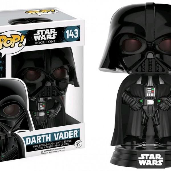 Star Wars Rogue One Pop Vinyl Darth Vader #143 - image SW-Rogue-One-Darth-Vader-143-600x600 on https://pop.toys