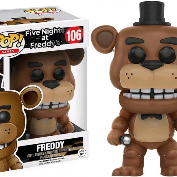 Five Nights at Freddy's Pop Vinyl: FREDDY #106 FNAF - image FNAF-106-Freddy-POP-600x600 on https://pop.toys