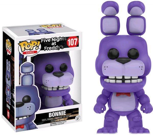 Five Nights at Freddy's Pop Vinyl: BONNIE #107 FNAF - bonnie five nights at freddy's pop vinyl figure - pop toys