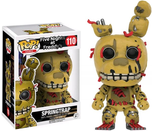 Five Nights at Freddy's Pop Vinyl: SPRINGTRAP #110 FNAF - springtrap five nights at freddy's pop vinyl figure - pop toys