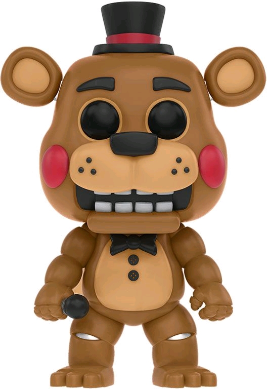 Five Nights at Freddy's Pop Vinyl: TOY FREDDY #128 FNAF - toy freddy five nights at freddy's pop vinyl figure - pop toys