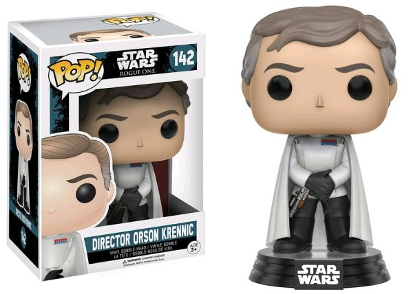 Star Wars Rogue One Pop Vinyl Director Orson Krennic #142 - director orson krennic star wars rogue one - pop toys