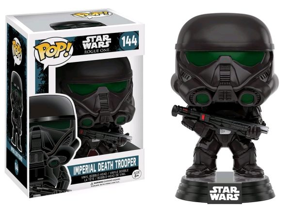 Star Wars Rogue One Pop Vinyl Imperial Death Trooper #144 - imperial death trooper star wars rogue one - pop toys