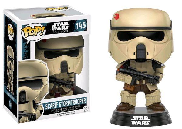 Star Wars Rogue One Pop Vinyl Scarif Stormtrooper #145 - star wars rogue one - scarif stormtrooper pop toys