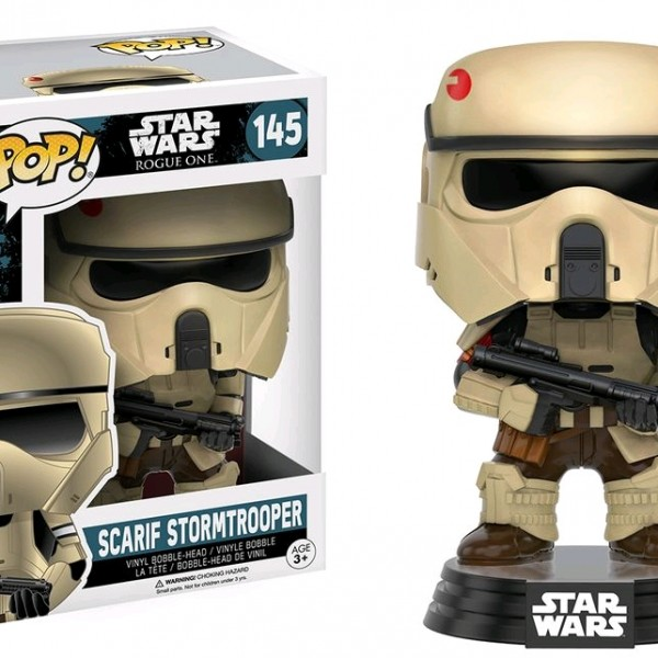 Star Wars Rogue One Pop Vinyl Scarif Stormtrooper #145 - image SW-Rogue-One-145-Scarif-Stormtrooper-600x600 on https://pop.toys