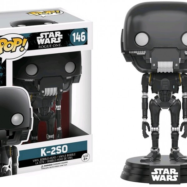 Star Wars Rogue One Pop Vinyl K-2SO #146 - image SW-Rogue-One-146-K-2S0-600x600 on https://pop.toys