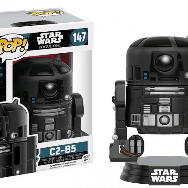Star Wars Rogue One Pop Vinyl C2-B5 #147 - image SWW-Rogue-One-147-C2-B5-600x600 on https://pop.toys