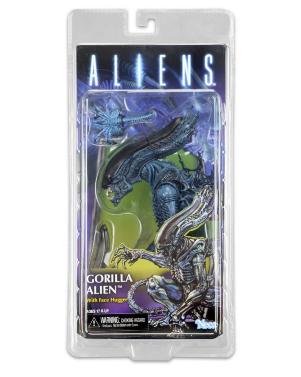 "Aliens Series 10: Gorilla Alien 9"" action figure by NECA (Kenner range) - alien toys - pop toys"
