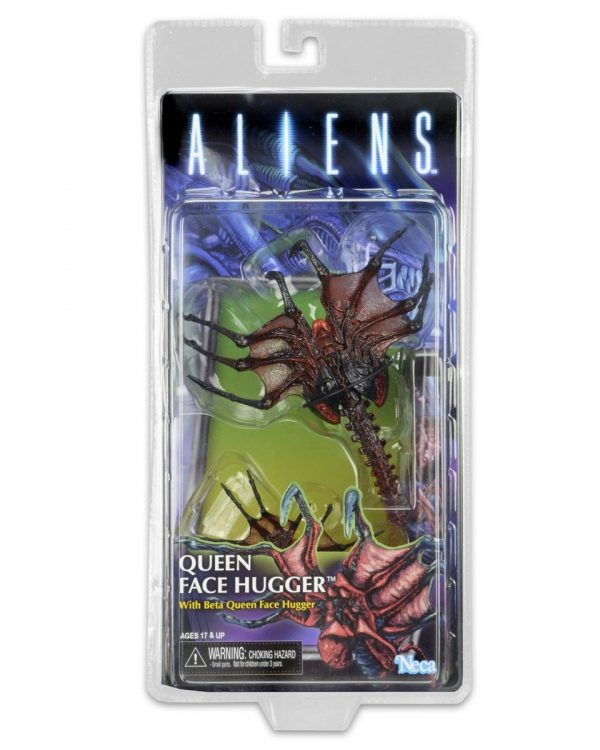 Aliens Series 10: Queen Face Hugger action figure by NECA (Kenner range) - aliens toys - pop toys