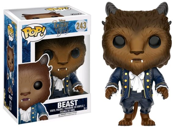 Beauty & the Beast Movie Pop Vinyl: Beast #243 - beast beauty & the beast pop vinyl figure - pop toys