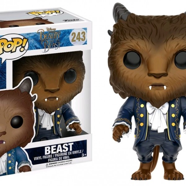 Beauty & the Beast Movie Pop Vinyl: Beast #243 - image BB17-243_Beast-POP-600x600 on https://pop.toys