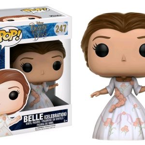 Beauty & the Beast Movie Pop Vinyl: Beast #243 - image BB17-247_Belle-Celebration-Rose-Dress-POP-300x300 on https://pop.toys