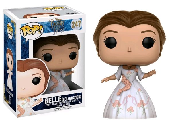 Beauty & the Beast Movie Pop Vinyl: Belle (Celebration) #247 - belle beauty & the beast pop vinyl figure - pop toys