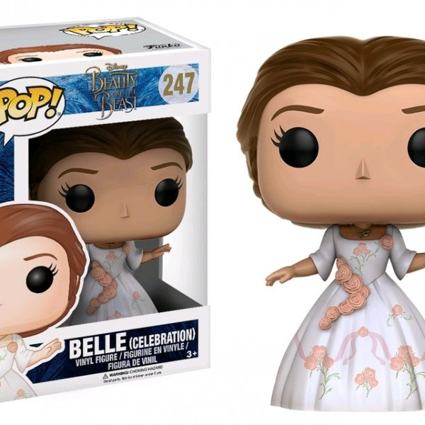 Beauty & the Beast Movie Pop Vinyl: Belle (Celebration) #247 - image BB17-247_Belle-Celebration-Rose-Dress-POP-600x600 on https://pop.toys