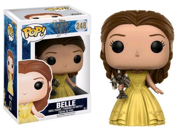 Beauty & the Beast Movie Pop Vinyl: Belle with Candlestick #248 - belle beauty & the beast pop vinyl figure - pop toys