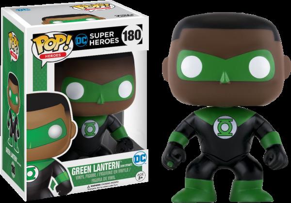 DC Comics Pop Vinyl: Green Lantern John Stewart #180 - green lantern dc comics pop vinyl figure - pop toys