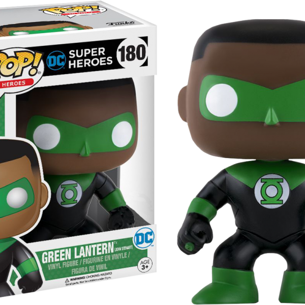 DC Comics Pop Vinyl: Green Lantern John Stewart #180 - image DC-180-green-lantern-john-stewart-pop-600x600 on https://pop.toys