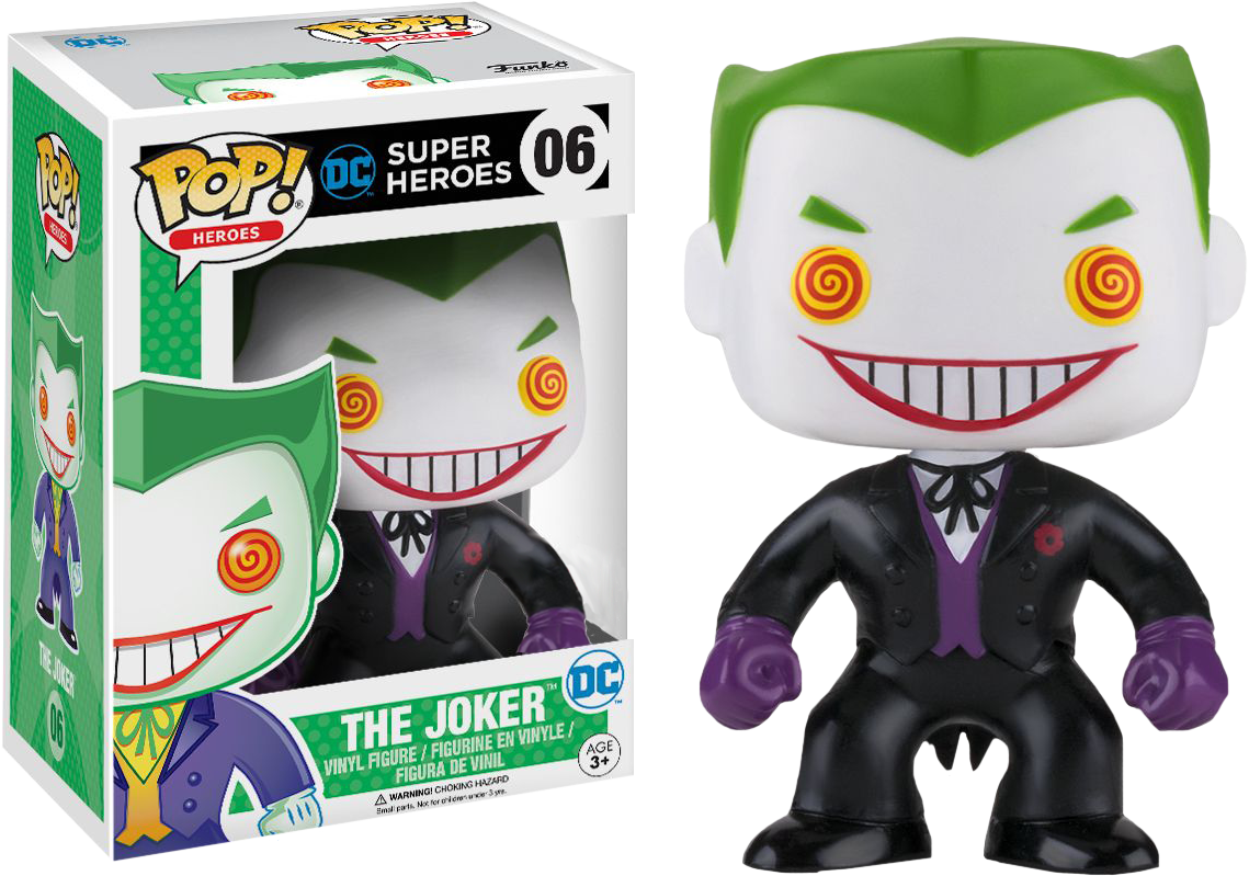 Dc Comics Pop Vinyl The Joker Black Suit Variant 6