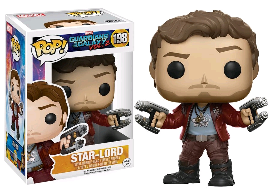 Marvel Pop Vinyl: Guardians of the Galaxy Vol 2 Star-Lord #198 - image GOTG2-198-StarLord-POP on https://pop.toys