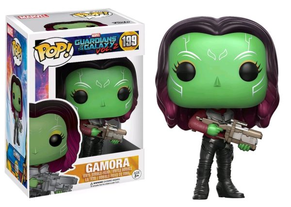 Marvel Pop Vinyl: Guardians of the Galaxy Vol 2 Gamora #199 - gamora marvel guardians of the galaxy pop vinyl figure - pop toys