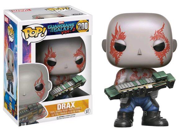 Marvel Pop Vinyl: Guardians of the Galaxy Vol 2 Drax #200 - drax marvel guardians of the galaxy pop vinyl figure - pop toys