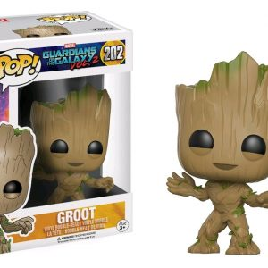 Marvel Pop Vinyl: Guardians of the Galaxy Vol 2 Groot #202 - image GOTG2-202-Groot-POP-300x300 on https://pop.toys