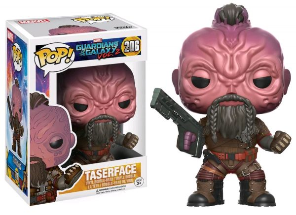 Marvel Pop Vinyl: Guardians of the Galaxy Vol 2 Taserface #206 - taserface marvel guardians of the galaxy pop vinyl figure - pop toys