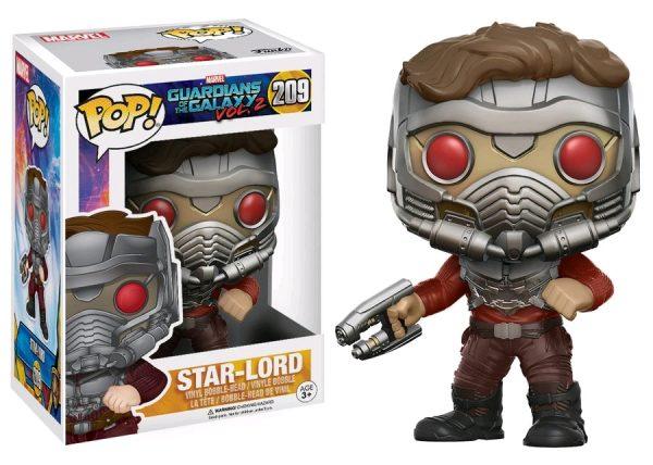 Marvel Pop Vinyl: Guardians of the Galaxy Vol 2 Star-Lord with Mask #209 - star-lord in mask marvel guardians of the galaxy pop vinyl figure - pop toys