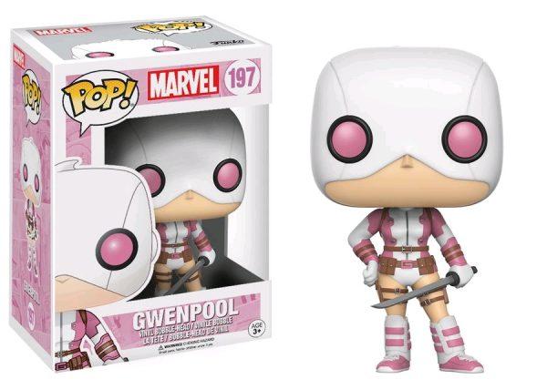 Marvel Pop Vinyl: Gwenpool (Masked) #197 - gwenpool marvel pop vinyl figure - pop toys