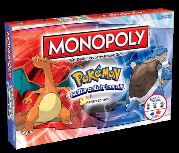 "Pokemon Monopoly ""Kanto Edition"" cover - monopoly - pop toys"