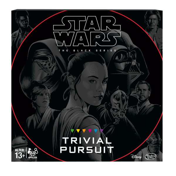 Star Wars The Black Series Trivial Pursuit [2017 release] cover - Star Wars boardgames - pop toys