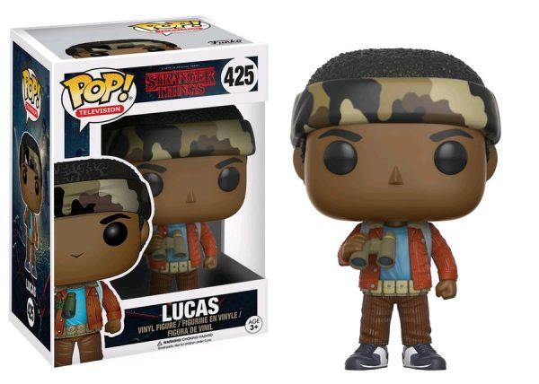Stranger Things Pop Vinyl: Lucas #425 - lucas stranger things pop vinyl figure - pop toys