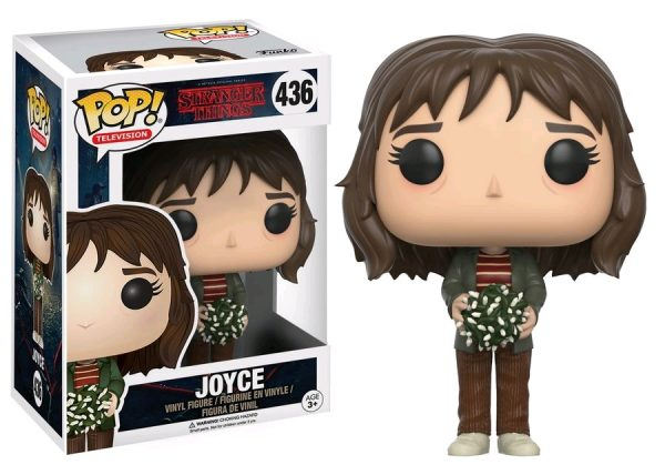 Stranger Things Pop Vinyl: Joyce with lights #436 - joyce stranger things pop vinyl figure - pop toys