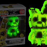 Five Nights At Freddy S Pop Vinyl Springtrap Glow In The