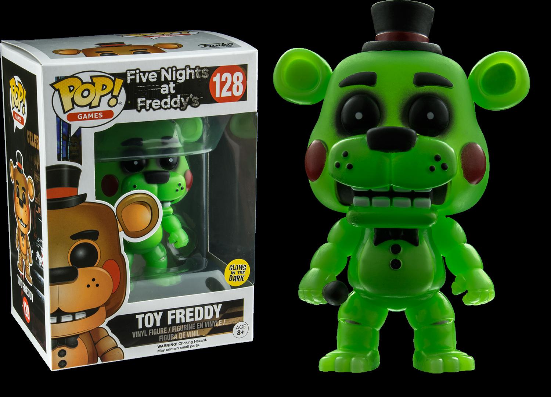 Target Spring Five Nights At Freddy S Pop Vinyl Toy Freddy Glow In The